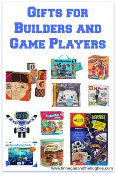 Gifts for Builders and Game Players | Finnegan and The Hughes