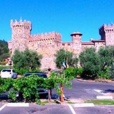 <3 Castello di Amorosa!