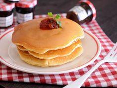 もちもちパンケーキ  https://recipe.yamasa.com/recipes/1875