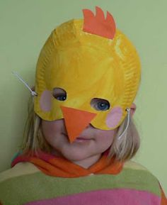 Bird Unit: Paper-plate masks! - possible sunglasses!  #masks #sunglasses fun Paper Plate Masks, Paper Plate Art, Paper Plate Crafts, Paper Plates, Animal Activities For Kids, Summer Camp Activities, Duck Costumes, September Crafts, Lion Hat