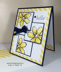 stampin up flower friend card idea mary fish stampin pretty blog