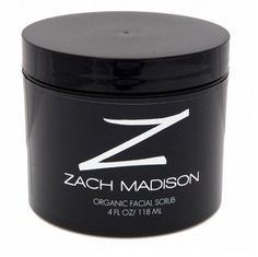 Zach Madison Face Scrub (Unscented) by Zach Madison. $22.00. Aloe. Loofah. Rooibos Tea. Jojba Wax. Our Organic Facial Scrub is designed with scrubbing beads that roll over a man's face cleaning and rejuvenating the skin and Aloe and Rooibos Tea that soothes the skin. This Organic Facial Scrub buffs away pore-clogging oil and impurities, removes dead skin, and helps prevent ingrown hairs. Zach Madison's Organic Facial Scrub removes irrelevant skin cells and frees ingrown...