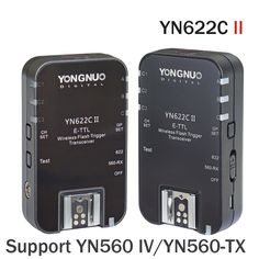 YONGNUO YN622C II HSS E-TTL Flash Trigger for Can Camera Compatible With YN622C YN560-TX RF-603 II RF-605