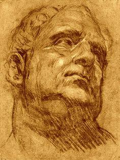 Tintoretto: So-Called Head of Emperor Vitellius (Morgan)