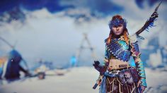 Aloy, just looking gorgeous as always