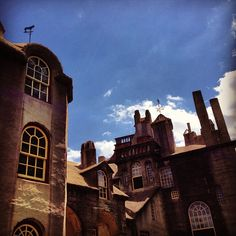 Beautiful view of Fonthill Castle captured by @Kyle Park on Instagram.