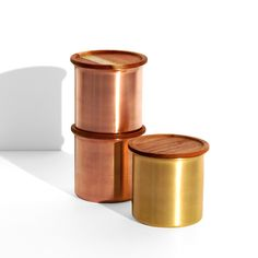'Ayasa' are stackable storage containers. Ayasa comes with ayurvedic Neem wood lids that have antibacterial properties.