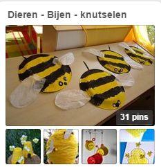pinterestpagina Bijen knutselen