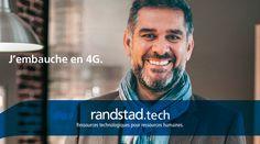 Aujourd'hui, à travers la technologie Randstad Bigdata, les plateformes Randstad Direct et Recrut'live, Randstad s'attache à faire évoluer la recherche d'emploi et toute la physionomie des ressources humaines. Pour les faire progresser. Hui, Live, Fictional Characters, Job Search, Human Resources, Technology, Fantasy Characters