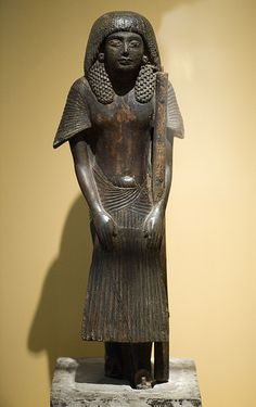 Tomb statue of Ramose (RMO Leiden, Egypt Deir el-Medina, 1285-1252, 19d) by koopmanrob, via Flickr