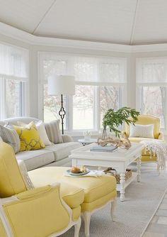 Sunroom Furniture, Living Room Furniture, Living Room Decor, Furniture Ideas, Furniture Layout, Furniture Arrangement, White Furniture, Sunroom Decorating, Sunroom Ideas
