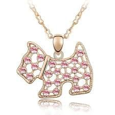 Add a bit of Fun and Sparkle to your outfit with this cute little Scottie Dog Crystal Pendant necklace. Item Type: NecklaceChain Type: Snake ChainMetals Type: Zinc AlloyPendant Size: x Scottie DogLength: Red Necklace, Crystal Necklace, Pendant Necklace, Rose Gold Lights, Kids Jewelry, Austrian Crystal, Gold Chains, Red Roses
