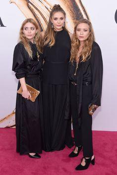 Mary-Kate, Elizabeth und Ashley Olsen bei den CFDA Awards