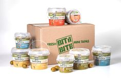 BIT N' BITE is a new brand in the pickled vegetable category using a registered patent of oxygen free packaging, allowing a 12 month shelf life without refrigeration. The brand is targeted to young, urban Europeans as a fresh and healthy snack.​​​​​ Four types of olives in large and small packages are sold successfully throughout Holland and Germany.