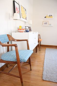 mid century reupholstery