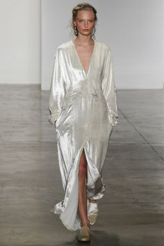 Iridescent gowns inspired by the Couture & RTW Runways...