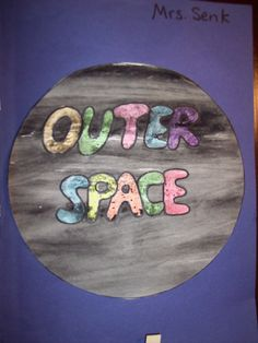 Space Unit from Kindergarten Nana Outer Space Activities, Science Activities, Children Activities, Educational Activities, Earth And Space Science, Earth From Space, Outer Space Theme, Bubble Painting, Space Books