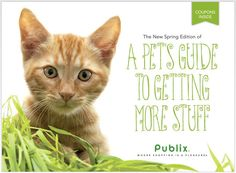 "New Publix Coupon Booklet and Printables - ""A Pet's Guide to Getting More Stuff"" - http://www.couponaholic.net/2015/04/new-publix-coupon-booklet-and-printables-a-pets-guide-to-getting-more-stuff/"