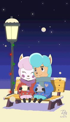Reese and Cyrus\'s Holiday - Animal Crossing by Dante Buford