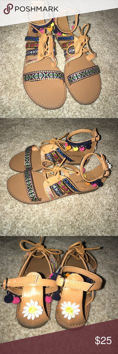 Indigo rd Summer Sandals Only been worn once! No Flaws! Make a statement this summer with these super cute sandals! Indigo rd Shoes Sandals