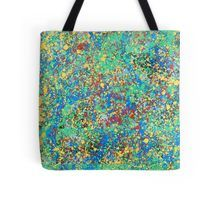 'Crazy colors' Tote Bag by Alkhidre Edge Of The Universe, Framed Prints, Canvas Prints, Crazy Colour, Iphone Wallet, Blue Green, Duvet Covers, Reusable Tote Bags, Tapestry