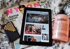 nylon, ipad, philosophy.
