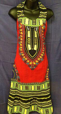 Dashiki dress by AbyssiniaCultureShop on Etsy, $24.99