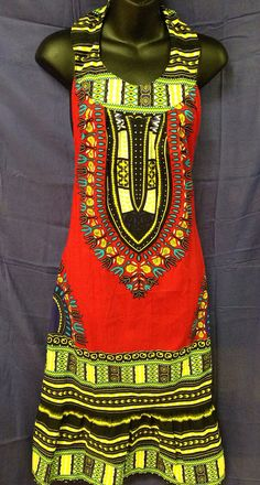 Dashiki dress by AbyssiniaCultureShop on Etsy, $24.99 ~African fashion, Ankara, kitenge, African women dresses, African prints, Braids, Nigerian wedding, Ghanaian fashion, African wedding ~DKK