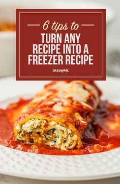 After the slow cooker the freezer is the busy womans next best friend in the kitchen. Check out these tips to turn any recipe into a freezer recipe. Healthy Eating Habits, Healthy Cooking, Cooking Tips, Cooking Recipes, Baking Storage, Meal Prep For The Week, Top Recipes, Menu Planning, Freezer Meals