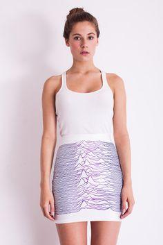 Lovelysally — Pulsar Viola Skirt