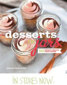 Desserts in Jars via @Shaina Olmanson   Food for My Family