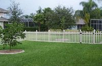 I've been trying to find a good white picket fence for my house. It would be nice to have that barrier for the dogs. I'd love to get it before the year ends so the dogs can roam around.