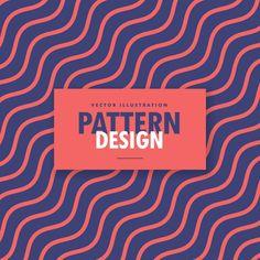 fundo colorido minimalista com linhas onduladas Vetor grátis