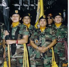 Native American Women Veteran Color Guard 2005