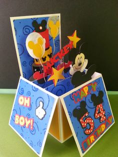 My Cre8ive Corner: Mickey Box card