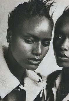 Peter Lindbergh, Margareth Lahoussaye-Duvigny, Adia Coulibaly The Face November 1996