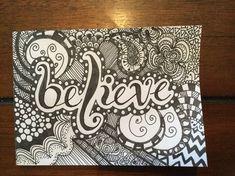 New Music Artwork Design Illustrations Ideas Doodle Zen, Doodle Art Drawing, Zentangle Drawings, Mandala Drawing, Cool Art Drawings, Pencil Art Drawings, Zentangle Patterns, Art Sketches, Drawing Ideas