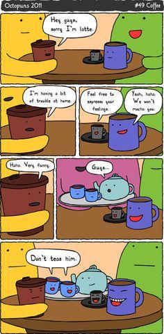 Coffee Jokes…