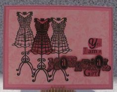I just listed Material Girl A2 handmade greeting card dressforms vintage sewing on The CraftStar @TheCraftStar #uniquegifts