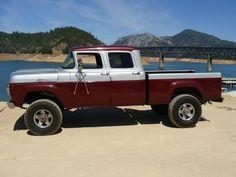 1960 ford crew cab | 4x4~Custom Classic Trucks | Pinterest | Ford ...