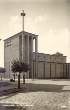 St.Antonius Church (r.c.), Schneidemühl (Pila), Polen I built in 1928-1930 by Hans Herkommer,