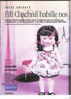 Fifi Chachnil pour Modes et Travaux décembre 2003