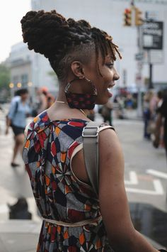 100 Unconventional dredlock styles. Who rocked it? Who sucked at it? – Nekita ink Natural Hair Regimen, Natural Hair Tips, Natural Hair Growth, Natural Hair Styles, Black Women Dreadlocks, Dreadlocks Men, Short Locs Hairstyles, Shaved Side Hairstyles, Black Hairstyles