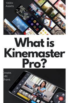 What is Kinemaster Pro? What is KineMaster Pro – Kinemaster is a professional video editing app for Android/IOS devices that allows you to easily customize, edit, and add text and images to your videos. You can voice over and you can add slow-motion effect in your videos and Much More.