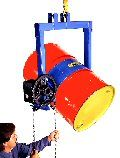 """55 Gal Extra Heavy Duty Below-Hook Overhead Drum Carriers, Spark Resistant Parts. """"Spark resistant parts"""" are intended to reduce the possibility of mechanical sparks as a possible source of ignition."""