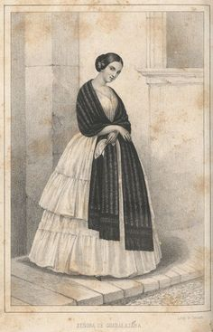 Mexican Treatise on the Rebozo. 1851 by Vicente Munguia. This rare pamphlet concerns the career and inventions of Mexican industrialist Vicente Munguía (1803-1877), but especially his perfection of the cloth he used to manufacture his rebozos, which were famous for their quality and apparently attracted much envy from his competitors. In 1847 he was awarded a patent for ten years on his cloth. Basically a defense of him against his attackers.