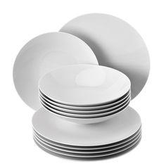Studio-Line TAC Gropius White Dinner set by Rosenthal