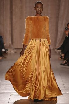 Zac Posen F/W 2015 R-T-W: The Fantabulous Alek Wek (via Bloglovin.com )
