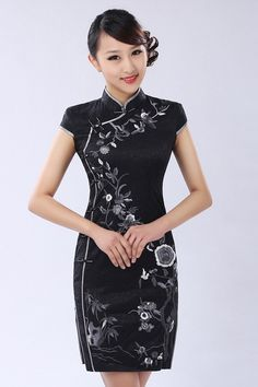 Vestidos Estilo Chino Vestidos de Moda Hermosos | Descubre Hermosos Vestidos…