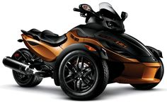 Never cared much for motorcycles, but I love the Can AM Spyder.   I WANT ONE!!
